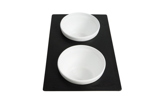 """21.69"""" x 13.25"""" Single Tile with Two Round openings, Classic Finish"""