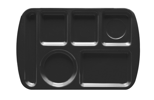 """14.625"""" x 9.75"""" Left Handed 6-Compartment Tray"""