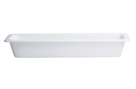 2.7 qt. Half Size Long Food Pan, Classic Finish
