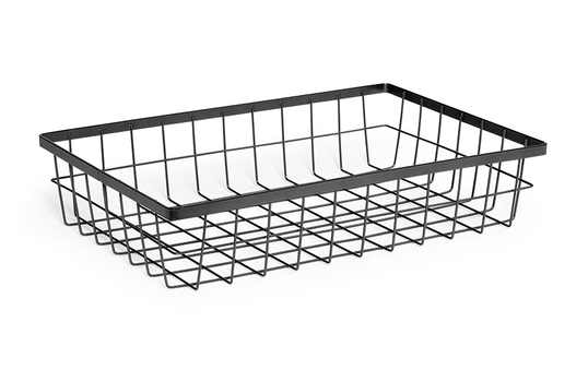 "17.75"" x 11.25"" Rectangular Wire Basket, 4"" tall"