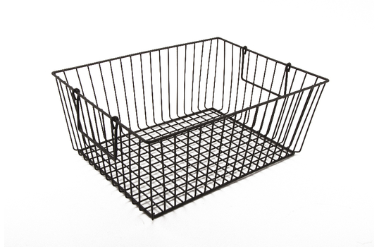 "Rectangular Basket w/ Swinging Handles 10"" x 5.5"" x 6.75"""