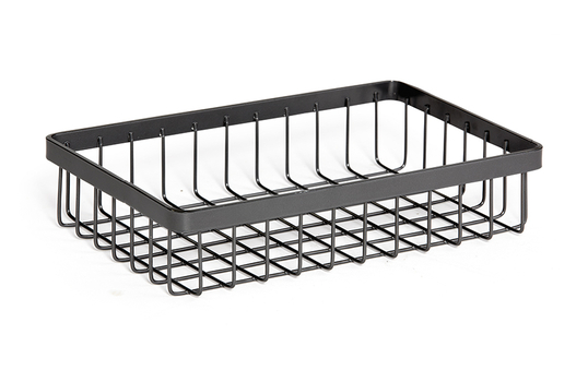 "9"" x 6"" Rectangular Wire Basket, 2"" tall"