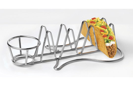 "10.5"" Guitar-Shaped Taco Holder"