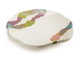 "8"" Scallop Shape Plate"
