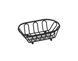 "7.5"" x 4.5"" Braided Oval Basket"