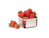 "4"" Square Berry Basket"
