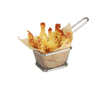 "4"" x 3.25"" Single Serving Fry Basket"