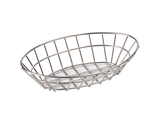 "9.75"" x 6.25"" Oval Grid Basket"
