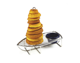 "9.5"" x 5"" Onion Ring Tower Boat w/ 1 Holder"
