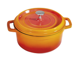 2.5 qt. Induction Ready Round Dutch Oven w/ Lid
