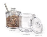 8 oz. Condiment Jar & Cover
