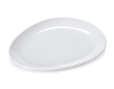 """11"""" x 9.25"""" Egg-Shaped Coupe Platter"""