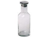 1.3 qt. Glass Carafe with Stainless Steel Lid