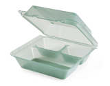 """9"""" x 9"""" 3-Compartment Food Container"""