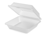 "9"" x 9"" Single Entrée Food Container"