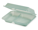 ***DISCONTINUED*** 2-Compartmant Polypropylene, Food Reusable Container