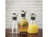 52 oz. Glass Decanter w/ Dripless Lid
