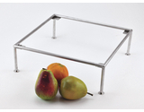 """12"""" Square Stainless Steel Riser"""
