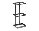 "9.25"" x 6.25"" Rectangular 3-Tier Merchandiser Stand, 20.5"" tall"