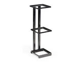 "6.25"" Square 3-Tier Merchandiser Stand, 20.5"" tall"