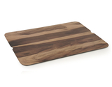 "20"" x 11"" Melamine Faux Walnut Wood Display"