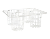 "Rack for Salad Dressing Bottles 13"" x 10.25"", Clear"