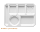 """13.625"""" x 9.75"""" Left Handed 6-Compartment Tray"""