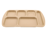 "15.5"" x 9.875"" Right Handed 6-Compartment Tray"