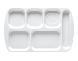 """15.5"""" x 9.875"""" Right Handed 6-Compartment Tray"""