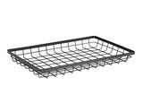 "17.75"" x 11.25"" Rectangular Wire Basket, 2"" tall"