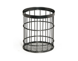"4.5"" Dia. Round Wire Basket, 5.5"" tall"
