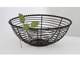 "8"" Round Wire Basket"