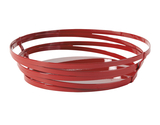 """9"""" x 7"""" Oval Wire Food Serving Basket"""